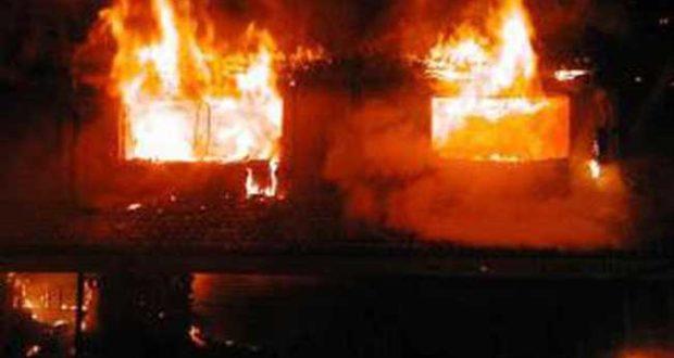 मदरसे के छात्रों को तेल डालकर जिंदा जलाने की नापाक कोशिश