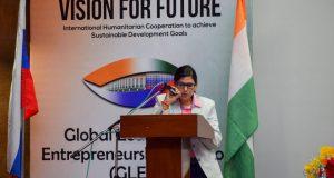 Adv. Geetanjali represents India for Sports, in International Municipal BRICS Forum