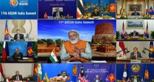 PM addresses 17th ASEAN India Summit
