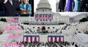 जो बाइडेन के सर पर अमेरिका के 46वें राष्ट्रपति का ताज