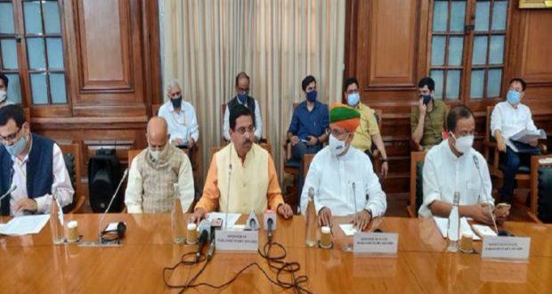 विभिन्न राज्यों में चुनावों के कारण बजट सत्र का नियत समय से पहले समापन- प्रह्लाद जोशी