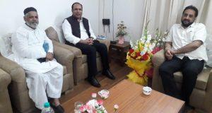 AIMIM दिल्ली के अध्यक्ष ने सांसद इम्तियाज जलील से की मुलाक़ात
