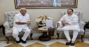 कर्नाटक के मुख्यमंत्री येडियुरप्पा ने कहा कि किसी ने भी उनसे इस्तीफा नहीं मांगा