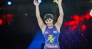 अंशु मलिक, विश्व कुश्ती चैम्पिनशिप में रजत पदक जीतने वाली पहली भारतीय महिला बनीं